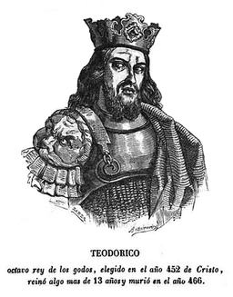 Rey godo 08 TEODORICO