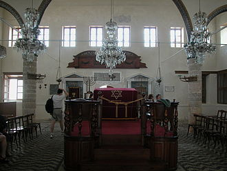 2000 World Monuments Watch - The Kahal Shalom Synagogue is the oldest synagogue in Greece today.