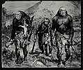 Richard Nixon, Spiro Agnew, and J. Edgar Hoover as prehistoric men hunting with clubs LCCN2016648537.jpg