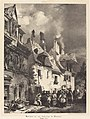 Richard Parkes Bonington, Vue d'une rue des Faubourgs de Besançon (View of a Street in the Outskirts of Besançon), 1827, NGA 119877.jpg