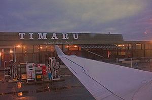 Richard Pearse Airport - Richard Pearse Airport