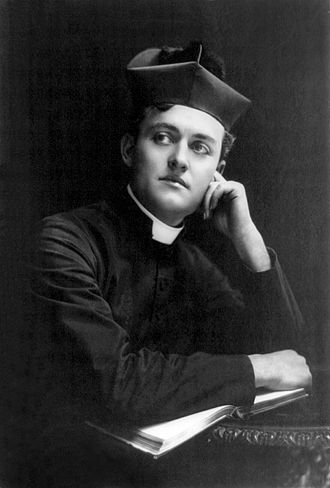Richard Bennett (actor) - As Father Anselm in A Royal Family Photograph by Otto Sarony, 1900