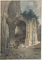 Rievaulx Abbey, Yorkshire MET DP801052.jpg