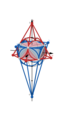 Right square pyramid & its polar dual about their common intersphere.png