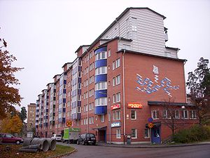 Million Programme - Rebuilt Million Programme homes in Rinkeby (2009)
