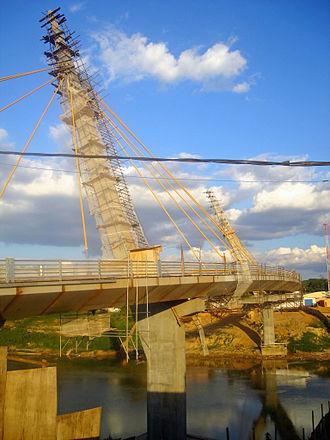 Acre River - Image: Riobranco pontedomercado 2