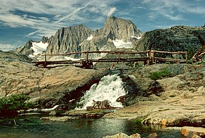 Inyo National Forest - Mount Ritter and Banner Peak along the John Muir Trail