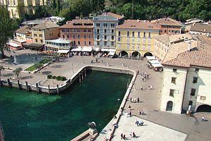Riva del Garda vom Turm Apponale