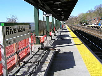 Riverdale, Bronx - The Riverdale Metro-North station