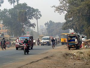 Muzaffarpur district - Road connecting New Zero Mile with NH-57