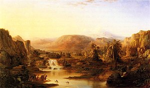 Robert S. Duncanson - Land of the Lotus Eaters, 1861