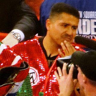 Robert Garcia (American boxer) Mexicam American boxer, boxing trainer