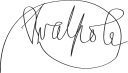 Robert Walpole Signature.svg