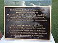 Robertson Oval redevelopment plaque.jpg