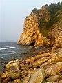 Rocky shore in Dalian.jpg