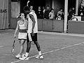 Roland Garros 2008 - Dominika Cibulková Gaël Monfils (7326150996).jpg