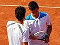 Roland Garros 20140531 Mate Pavić & André Sá.jpg