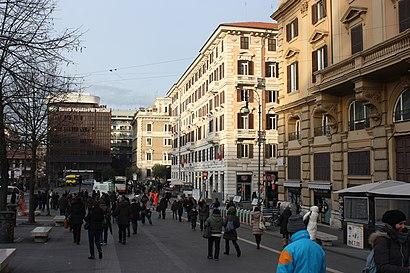 Come arrivare a Piazzale Flaminio con i mezzi pubblici - Informazioni sul luogo