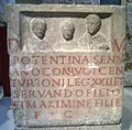Roman funary stele at the Römisch-Germanisches Museum Cologne 2.jpg