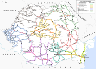 Romania railroads