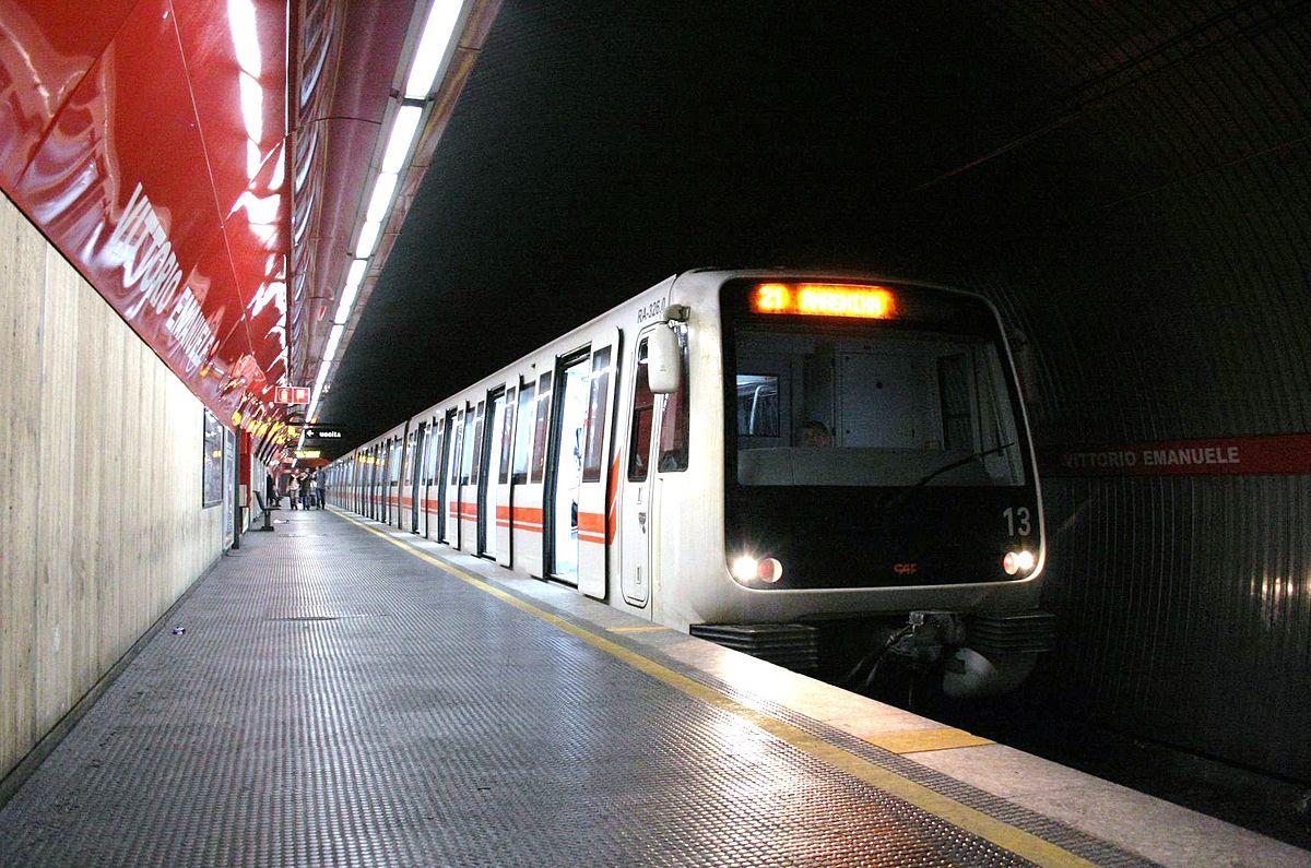 vittorio emanuele  rome metro