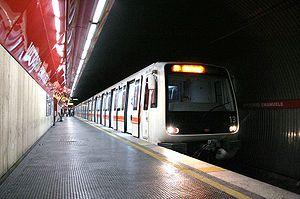 Vittorio Emanuele (Rome Metro) - Image: Romemetro Emanuele