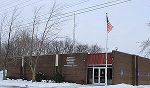 Romulus, Michigan - Romulus Community School District administration building