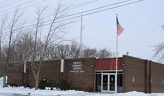 Romulus, Michigan - Romulus Community School District administration building