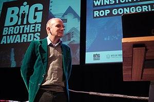 Rop Gonggrijp - Gonggrijp at the Big Brother awards