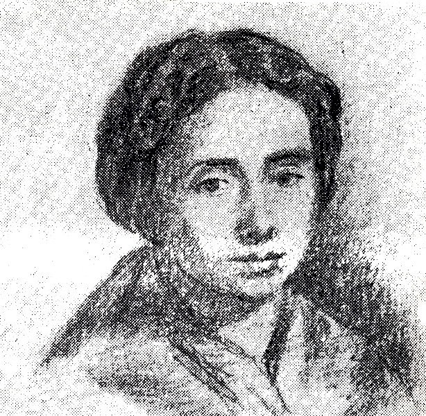 Rosalía nun debuxo da súa filla Alexandra