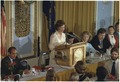 Rosalynn Carter addresses the National Press Club - NARA - 180002.tif