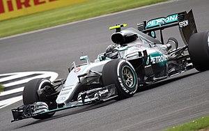 2016 British Grand Prix - Nico Rosberg during free practice