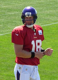 Sage Rosenfels American football quarterback