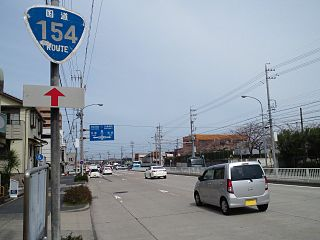 Japan National Route 154