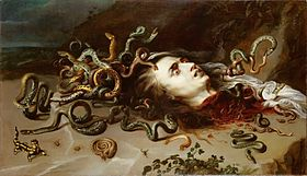 Peter Paul Rubens: Meduzina glava, 1618.