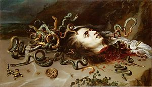 The Head of Medusa by Peter Paul Rubens, circa...