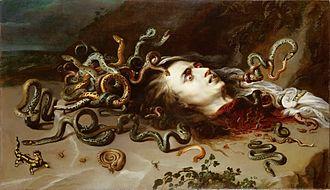 Medusa (Rubens) - Medusa painting in Vienna