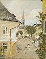 Rudolf Ribarz Aussicht aus meinem Fenster in Bad Hall.jpg