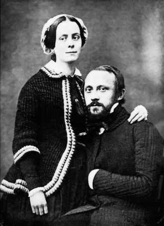 Rudolf Virchow - Rudolf and Rose Virchow in 1851