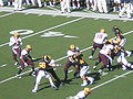 Rudy Carpenter passes at ASU at Cal 10-4-08 5.JPG