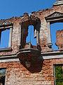 Ruina pałacu z 2 połowy XIX wieki.JPG
