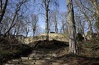 Ruines de Montrond, Sud (Saint-Amand-Montrond, Cher).JPG
