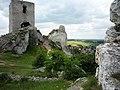 Ruiny warowni z IVXw. Legendy mówią, że podziemia olsztyńskiego zamku łączą się z klasztorem na J.Górze w Cz-wie. - panoramio.jpg