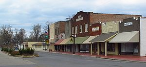 Ruleville, Mississippi - Ruby Avenue in Ruleville
