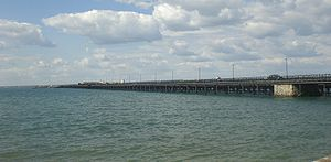 Ryde Pier - Ryde Pier shown from Ryde.