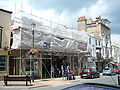 Ryde Royal Victoria Arcade restoration work.JPG
