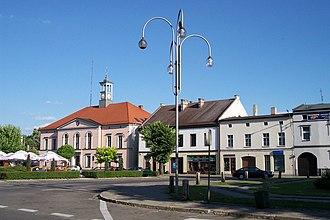 Dobrodzień - Image: Rynek w Dobrodzieniu