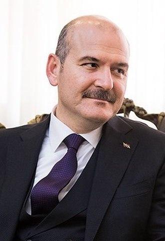 Cabinet Erdoğan IV - Image: Süleyman Soylu in Tehran 01