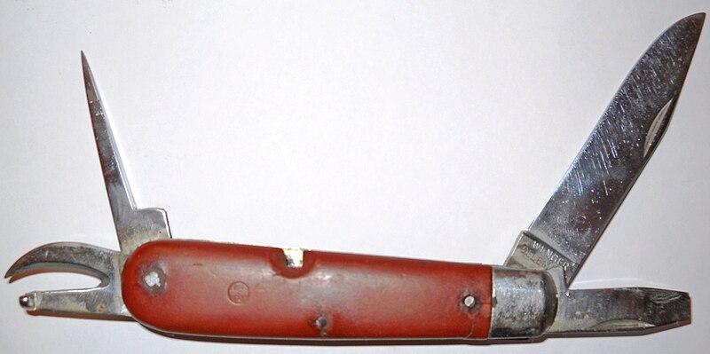 Pocket Knife Guide - A Gentlemen's Tool   Reddit   Image courtesy of Wikipedia: http://en.wikipedia.org/wiki/File:SAK_1951.JPG