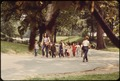 SCHOOL CHILDREN ON THEIR WAY HOME AFTER DAIRY DAY IN PROSPECT PARK, BROOKLYN - NARA - 551736.tif